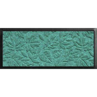 Aqua Shield Boot Tray Fall Day Aquamarine 15 in. x 36 in. Door Mat