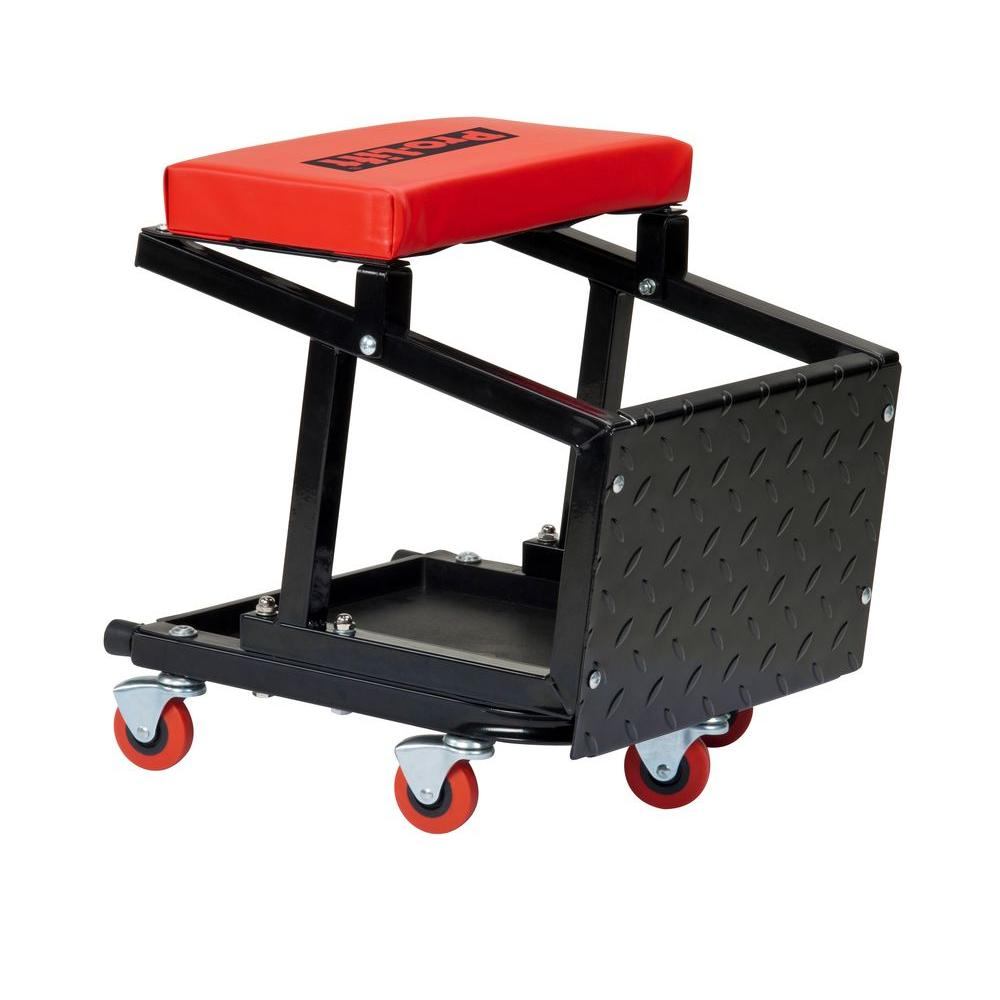 Pro Lift Creeper Seat With Stepstool C 2800 The Home Depot