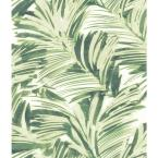 Chaparral Green Fronds Paper Strippable Roll (Covers 56.4 sq. ft.)