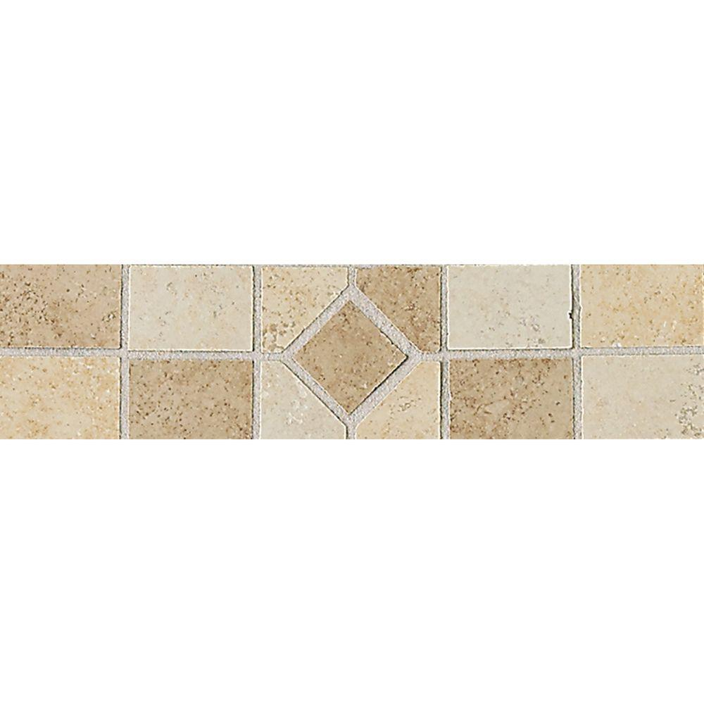 Daltile Brixton Universal 3 in. x 12 in. Ceramic Decorative Accent ...