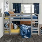 Low Wood Grey Twin Bunk Bed
