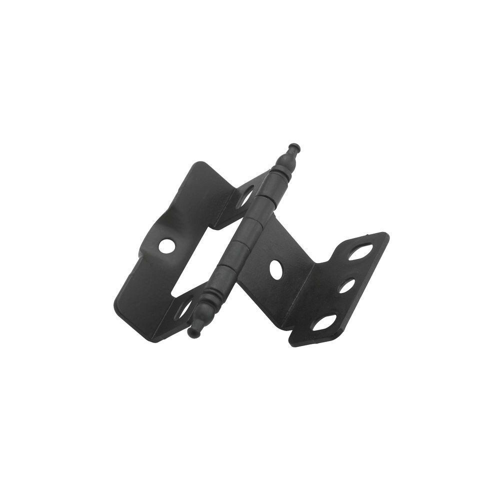 Flat Black Inset Hinge (50-Pack)