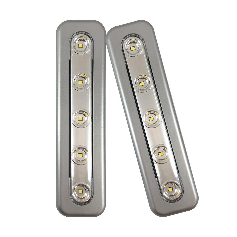 Westek Mini Task Led Silver Under Cabinet Light 2 Pack