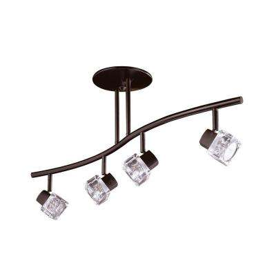 Cassiopeia 4-Light Oil Rubbed Bronze Track Lighting Kit