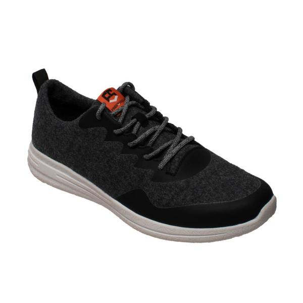 11 Charcoal/Black Wool Casual Shoes