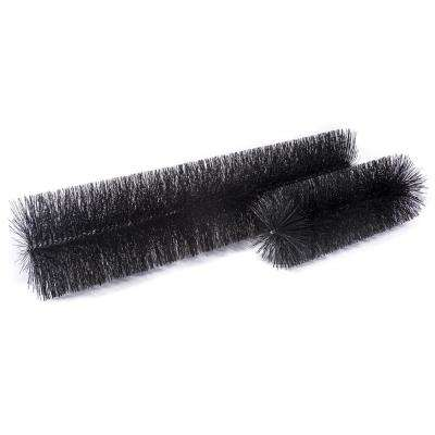 industrial 8 in. - 36 ft. Pack Max-Flow Filter Brush Gutter Guard