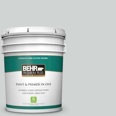 5 gal. #PPU26-11 Platinum Semi-Gloss Enamel Zero VOC Interior Paint and Primer in One