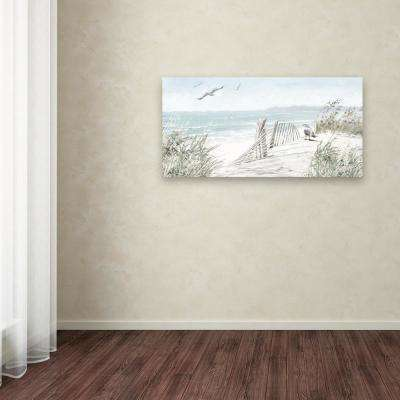 """24 in. x 47 in. """"Coastal Dunes"""" by The Macneil Studio Printed Canvas Wall Art"""