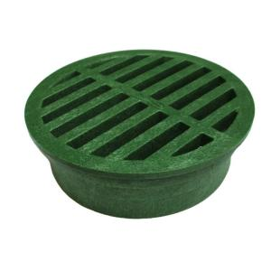 Nds 4 In Plastic Green Structural Foam Polyolefin Round