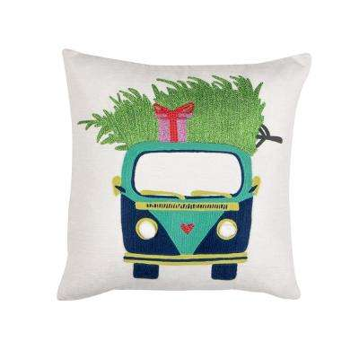 Quirky Van Pillow
