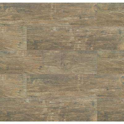 Redwood Natural 6 in. x 24 in. Matte Porcelain Floor and Wall Tile (10 sq. ft./case)