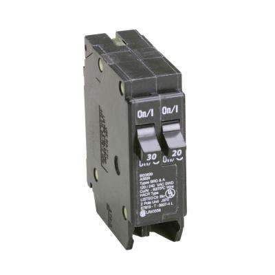 BD 1-30 Amp 1-20 Amp Single Pole Tandem CTL Circuit Breaker