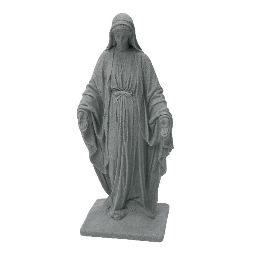 Emsco Granite Color High Density Resin Virgin Mary Statue
