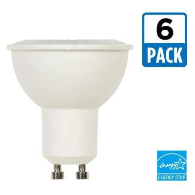 50W Equivalent Bright White MR16 Dimmable LED Light Bulb (6-Pack)