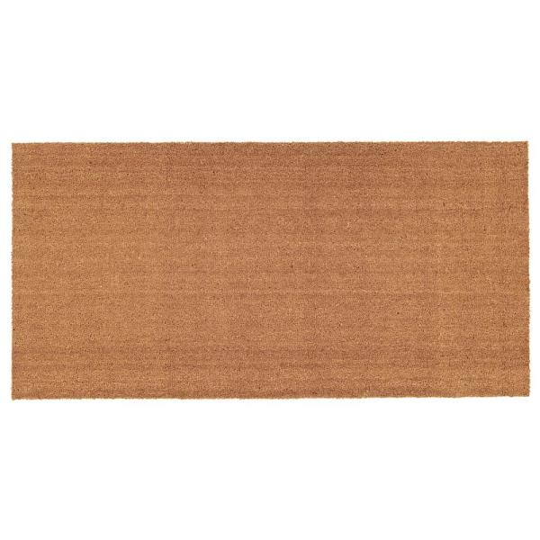 Natural Coir with Vinyl Backing 30 in. x 48 in. Door Mat