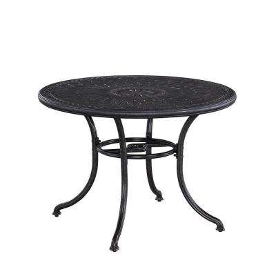 Athens Charcoal 48 in. Patio Dining Table