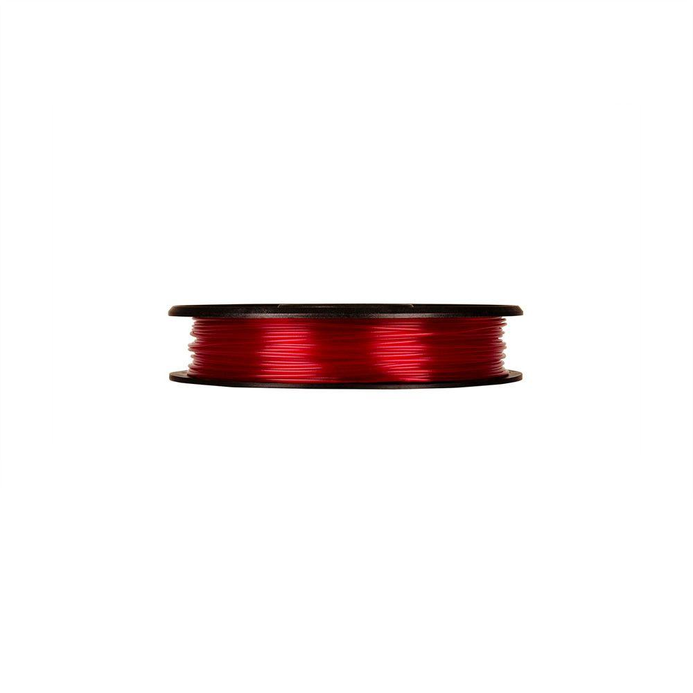 0.5 lbs. Small Translucent Red PLA Filament