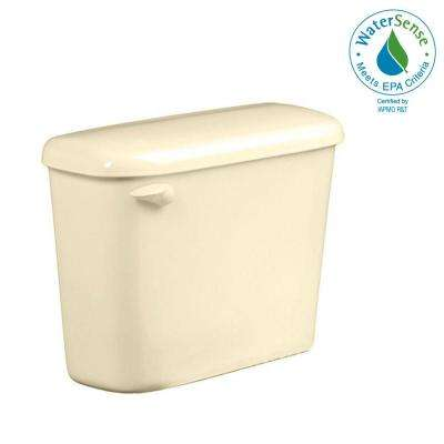 Colony 1.28 GPF Single Flush Toilet Tank Only for 10 in. Rough in Bone