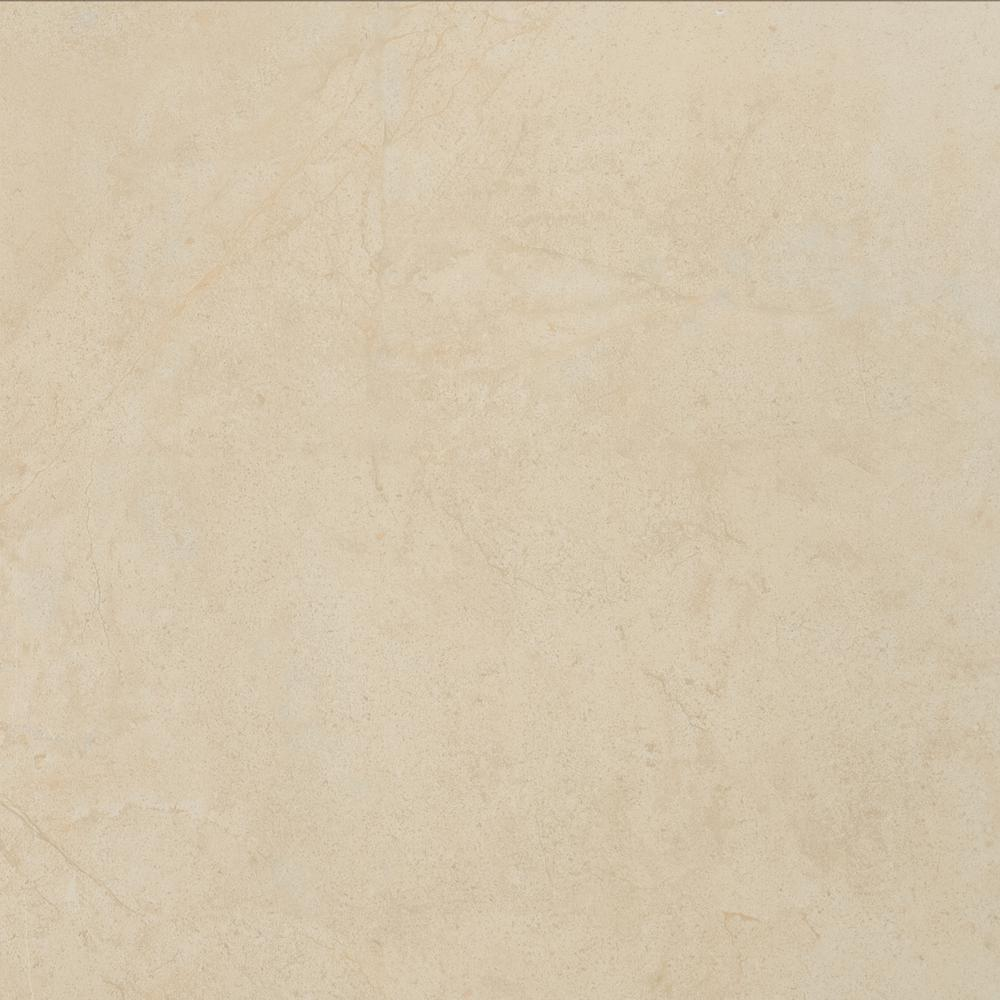 Aria Cremita 24 in. x 24 in. Polished Porcelain Floor and