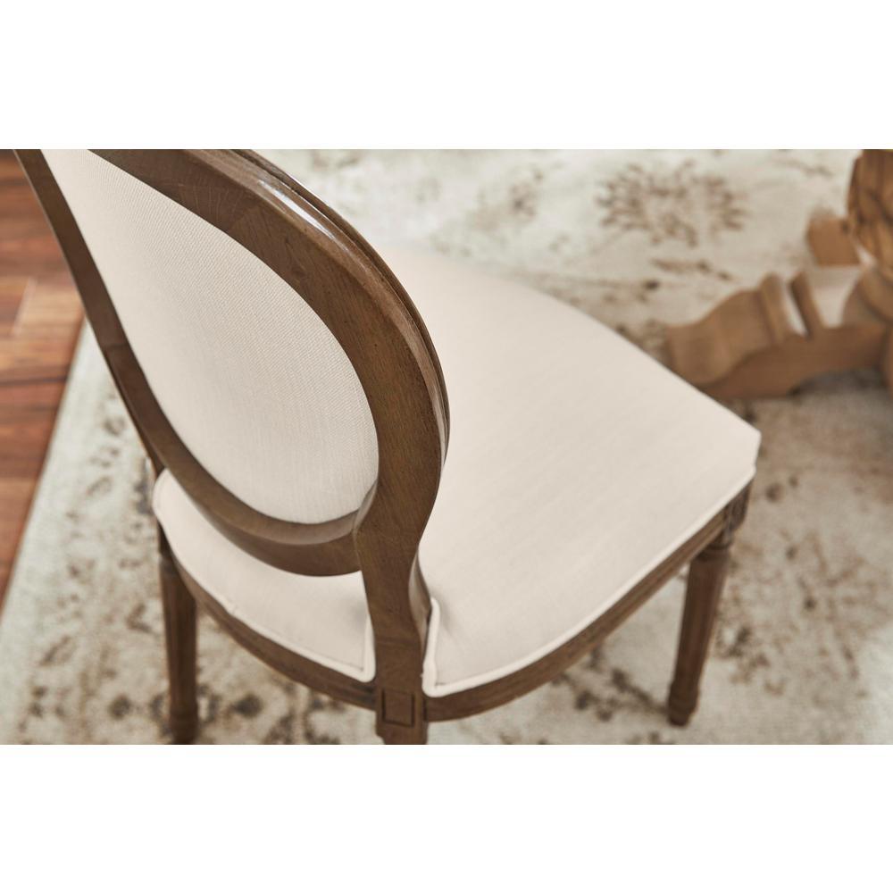 Tremendous Home Decorators Collection Ellington Haze Wood Upholstered Pabps2019 Chair Design Images Pabps2019Com
