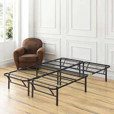 Full-Size 14 in. H Heavy Duty Metal Platform Bed Frame