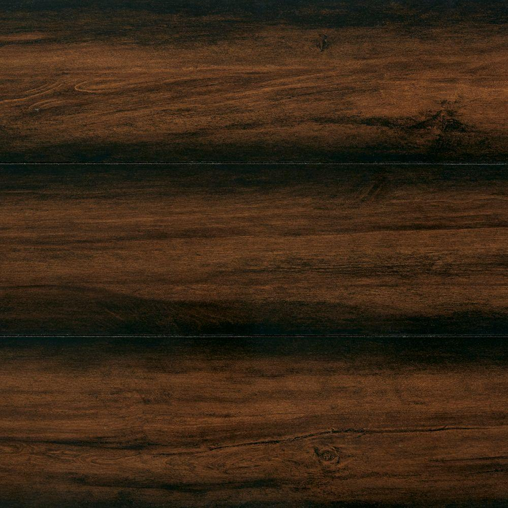 Home Decorators Collection High Gloss Distressed Maple Auburn 12 Mm X 5 9 16