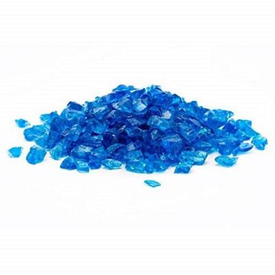 1/2 in. 25 lb. Medium Turquoise Landscape Fire Glass