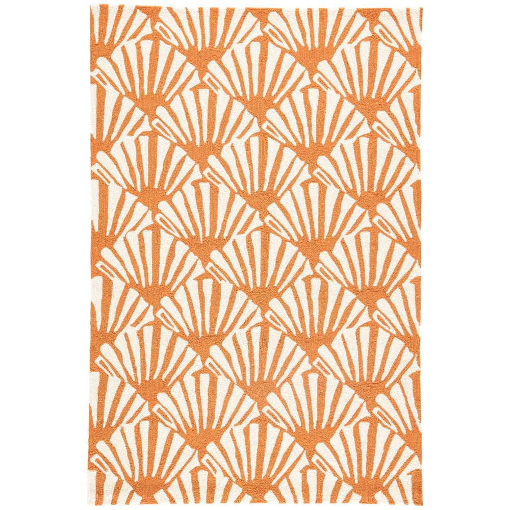 Jaipur Rugs Burnt Orange 5 ft x 8 ft Trellis Indoor Outdoor Area
