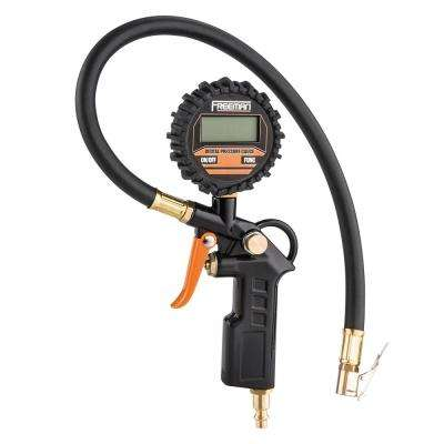 Digital Tire Inflator with LED Pressure Gauge