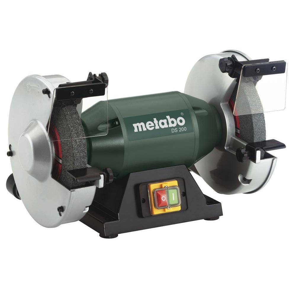 Metabo 120 Volt 8 In Bench Grinder Ds 200 The Home Depot