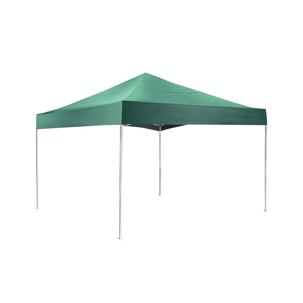 ShelterLogic Pro Series 12 ft x 12 ft Green Straight Leg