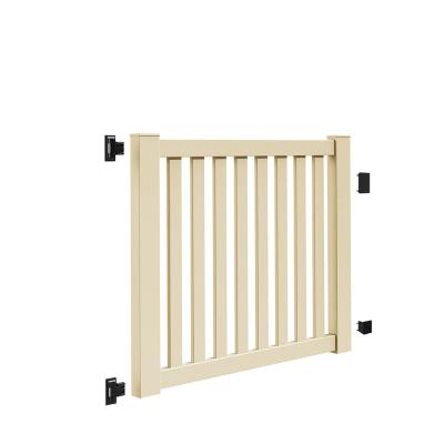 Ohio 5 ft. W x 4 ft. H Sand Vinyl Un-Assembled Fence Gate