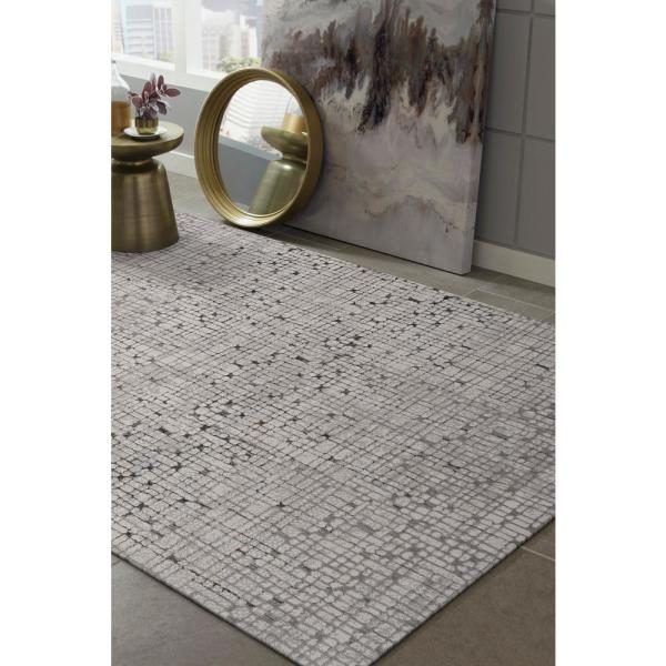 Kas Rugs Ines Grey 10 Ft X 13 Ft Area Rug Mil7505910x132 The Home Depot