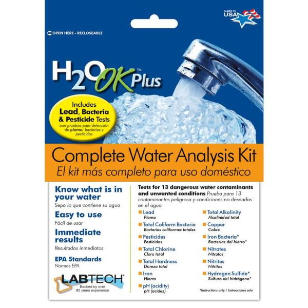 H2O OK Plus Complete Water Analysis Test Kit