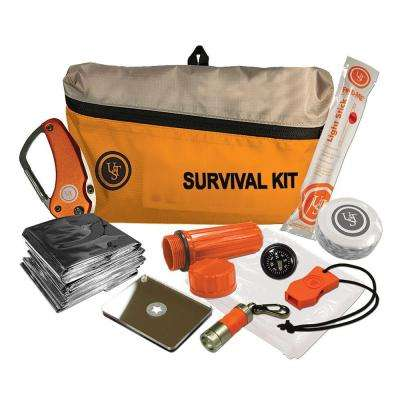 FeatherLite Survival Kit, Orange (10-Piece)