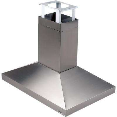 Elite 63000 39 in. Island Range Hood with Light in Stainless Steel