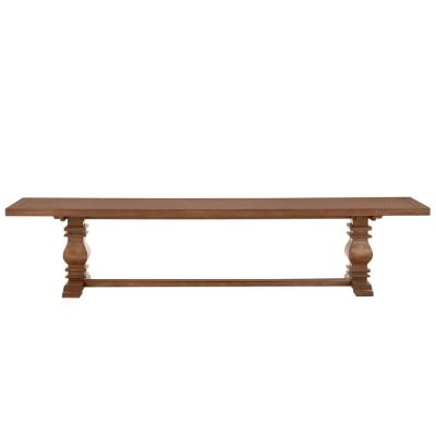 Eldridge - Trestle Dining Bench in Haze