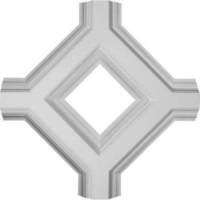 36 in. Inner Diamond Intersection for 8 in. Deluxe Coffered Ceiling System