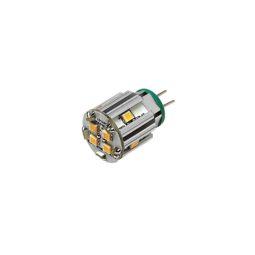 1.5W Equivalent Cool White Ultra Warm Bi Pin LED Light Bulb