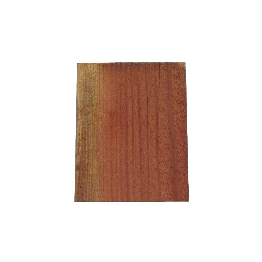 1 in. x 6 in. x 5 ft. ConCom Redwood Square
