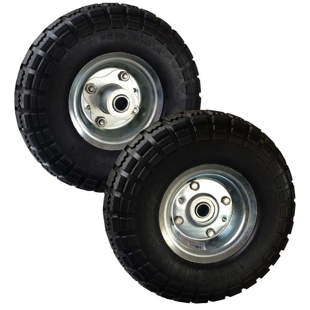 10 in. Pneumatic Tire (2-Pack)