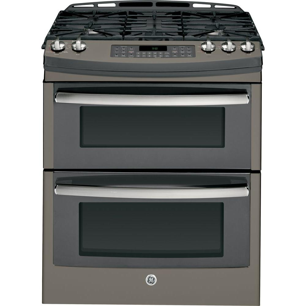 Delightful Gas Range Oven Part - 8: Double Oven Gas Range With Self-Cleaning Convection