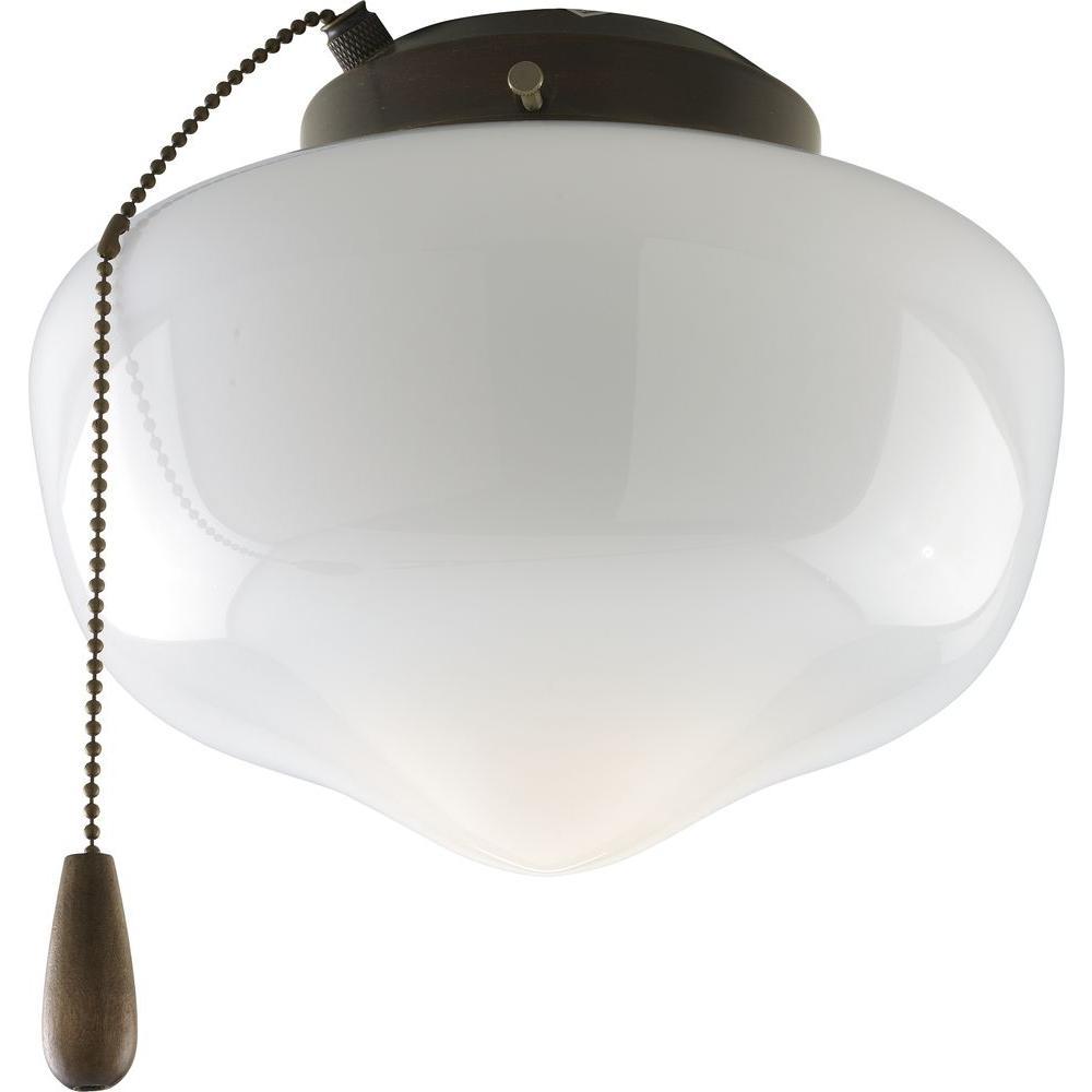 Progress Lighting AirPro 1-Light Antique Bronze Ceiling ...