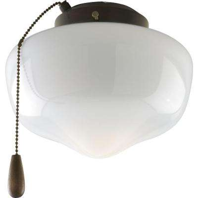 AirPro 1-Light Antique Bronze Ceiling Fan Light