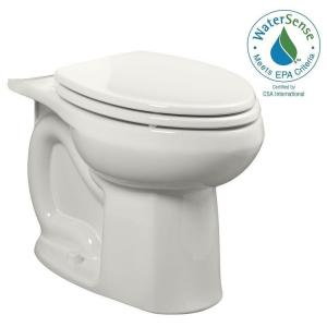 American Standard Colony Universal 1.28 GPF or 1.6 GPF Tall Height Elongated Toilet Bowl Only in White by American Standard