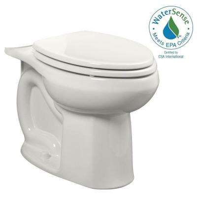 Colony Universal 1.28 GPF or 1.6 GPF Tall Height Elongated Toilet Bowl Only in White