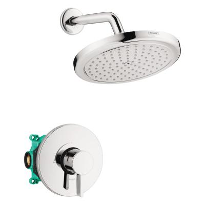 Croma 220 2-Handle 1-Spray Shower Faucet with Shower Arm in Chrome Valve Included