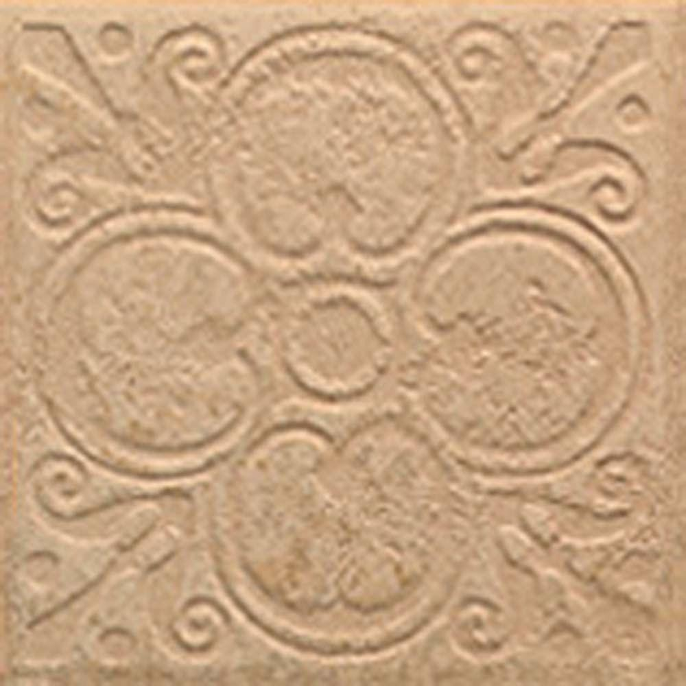 MARAZZI Sanford Leather 6-1/2 in. x 6-1/2 in. Decorative Porcelain Floor and Wall Tile (12 pieces / case)