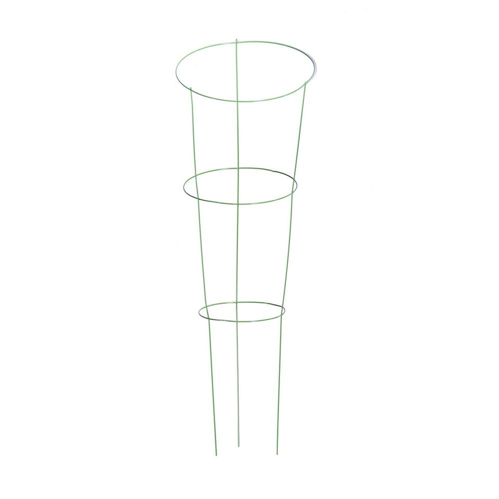 Plant Cage Tomato Cages Plant Support The Home Depot