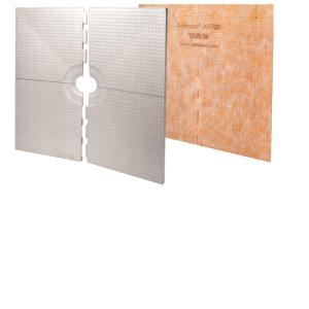 Kerdi-Shower 72 inch x 72 inch Shower Tray by